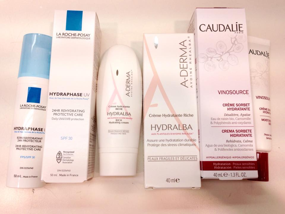 soins hydratants anti rougeurs